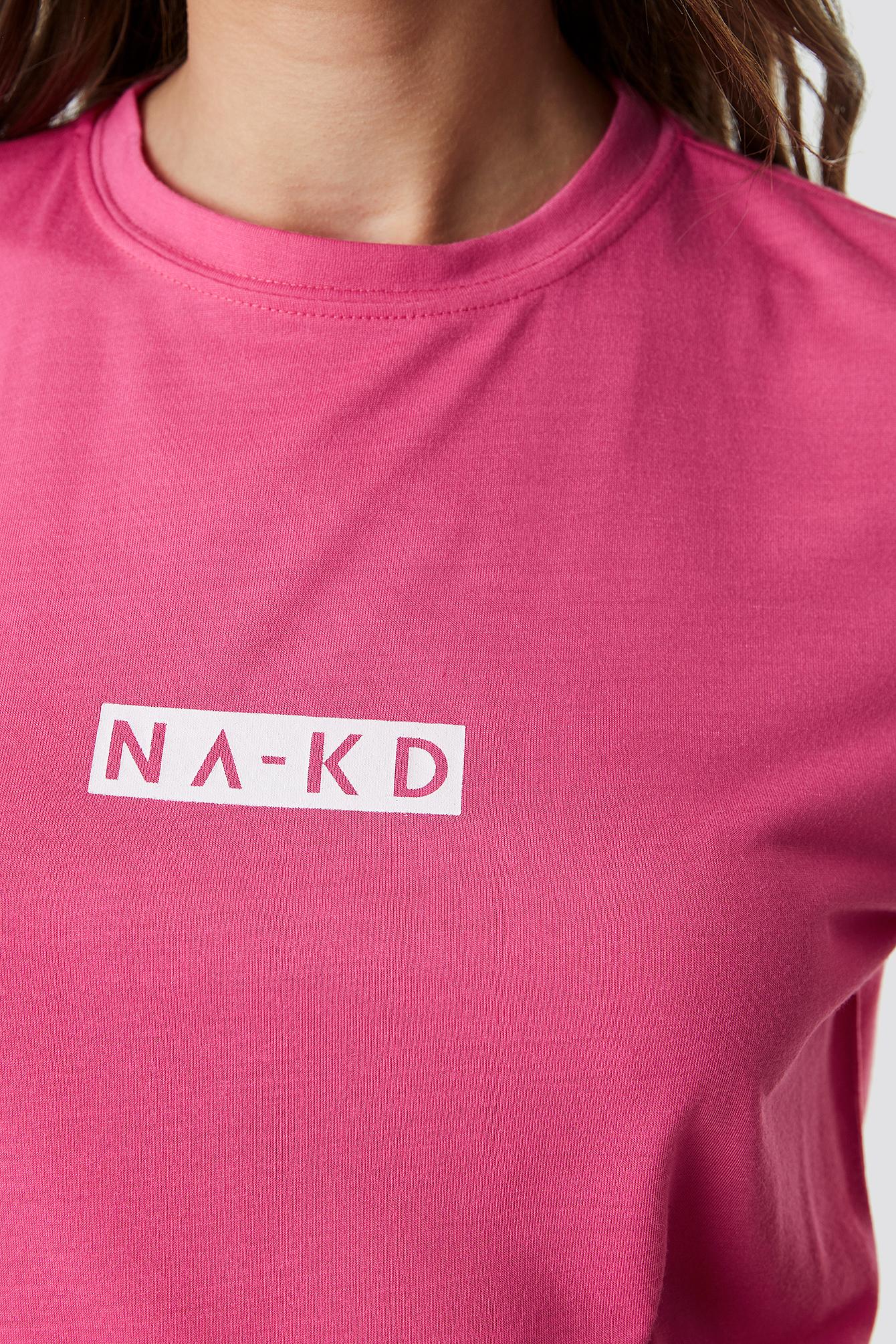 Neon Logo Tee NA-KD.COM