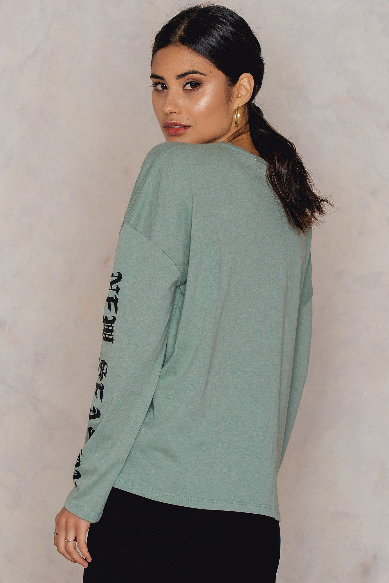 Duck Green New Season Long Sleeve Top