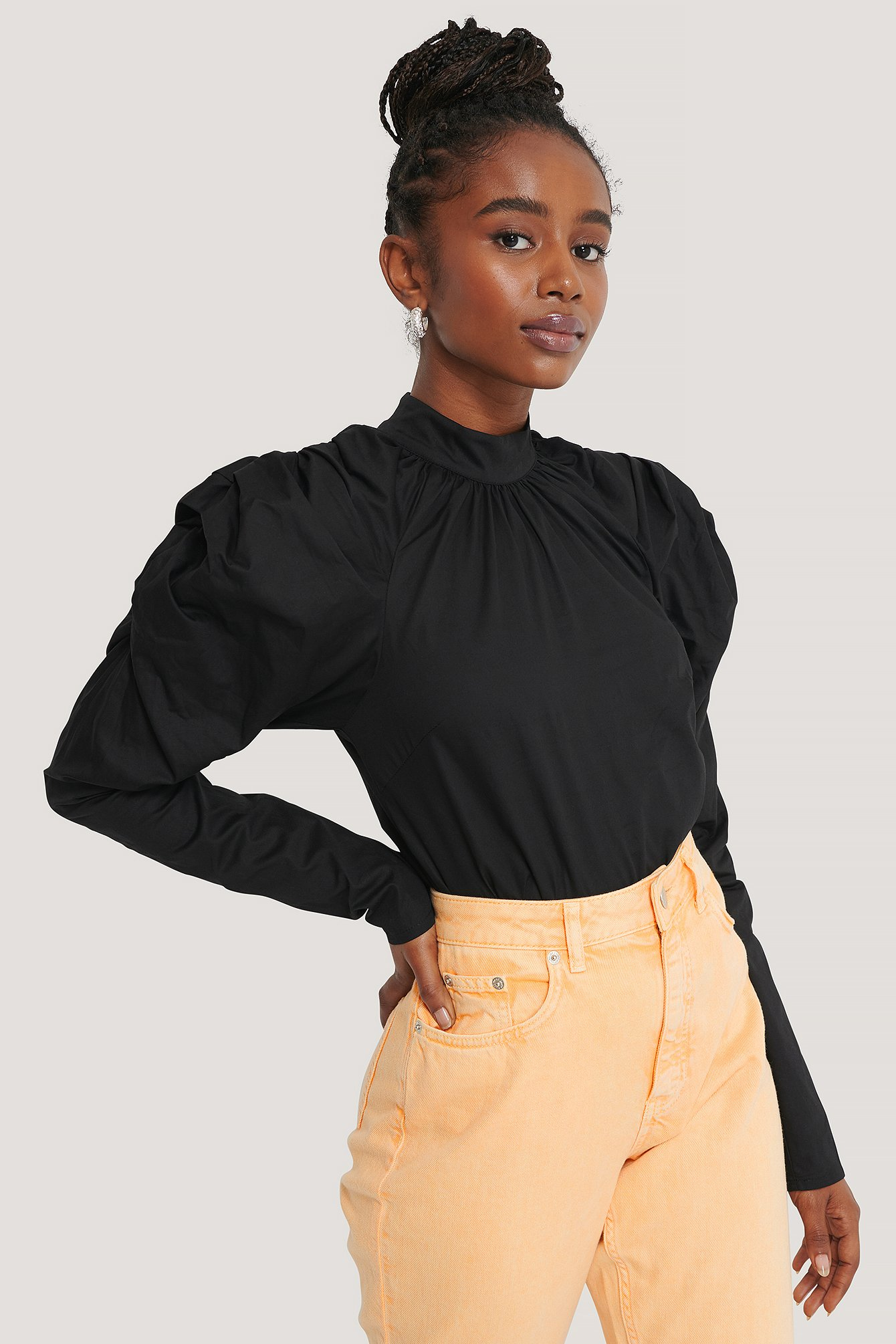 Black New York Blouse