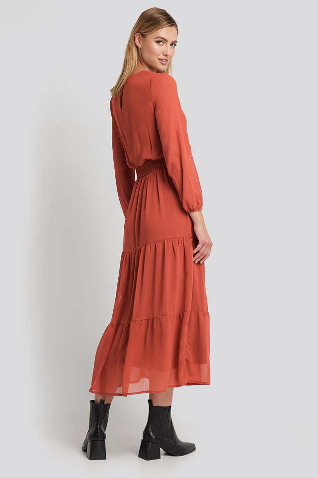 Nicoline-M Dress Rust