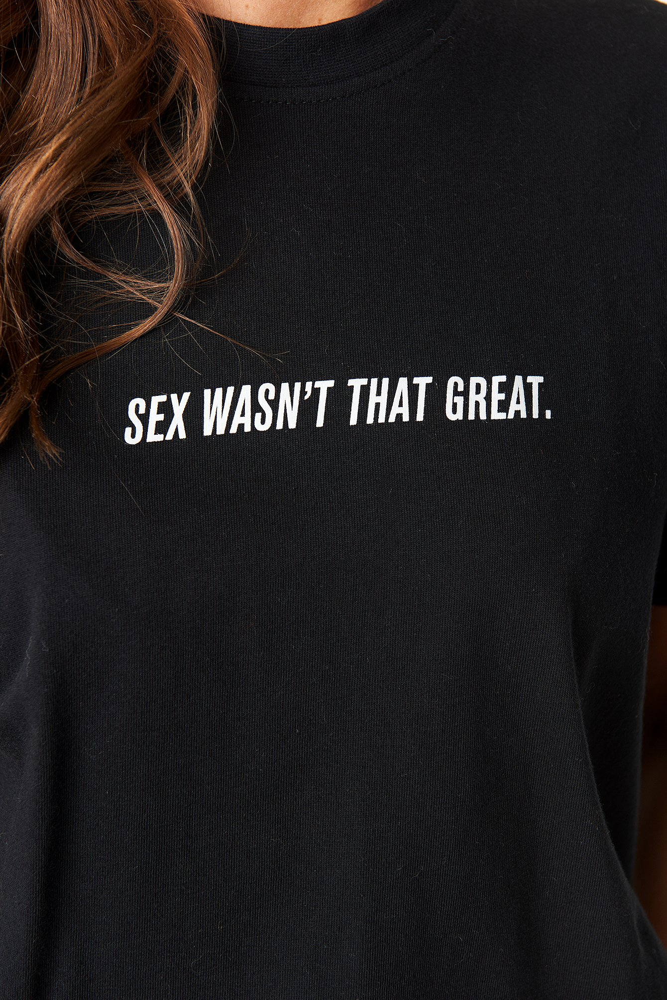 Not Great Sex Tee NA-KD.COM
