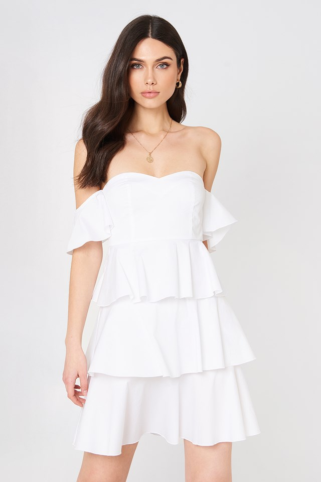 Off Shoulder Dress | Shop the latest Dresses | na-kd.com
