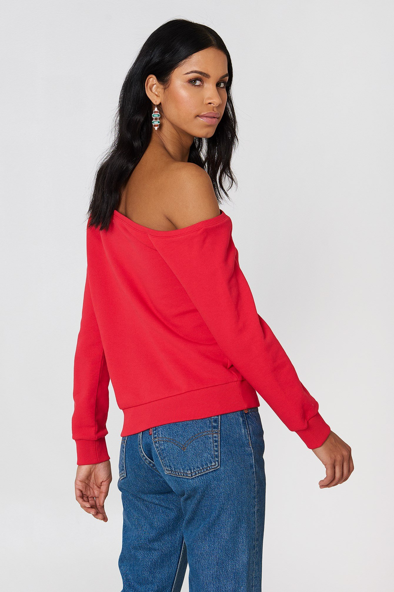 One Shoulder Sweater NA-KD.COM