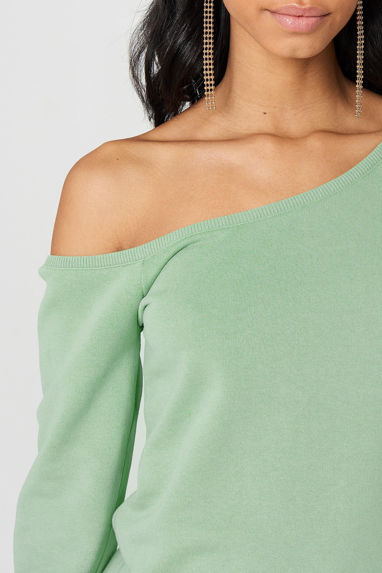One Shoulder Sweater NA-KD.COM