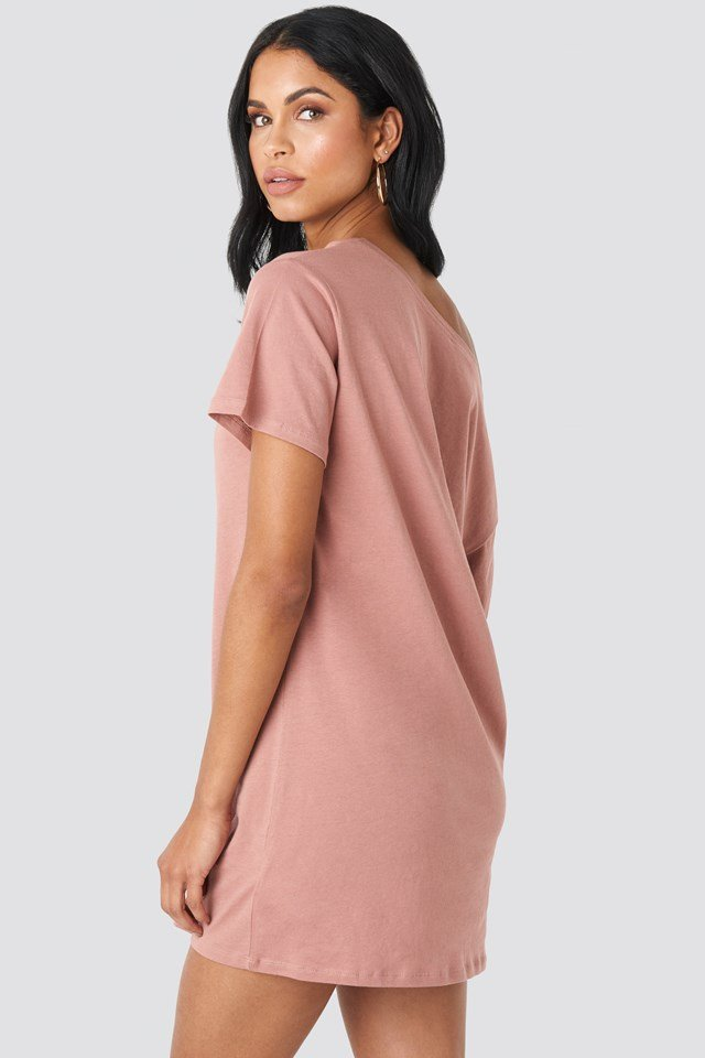 One Shoulder T-shirt Dress NA-KD.COM