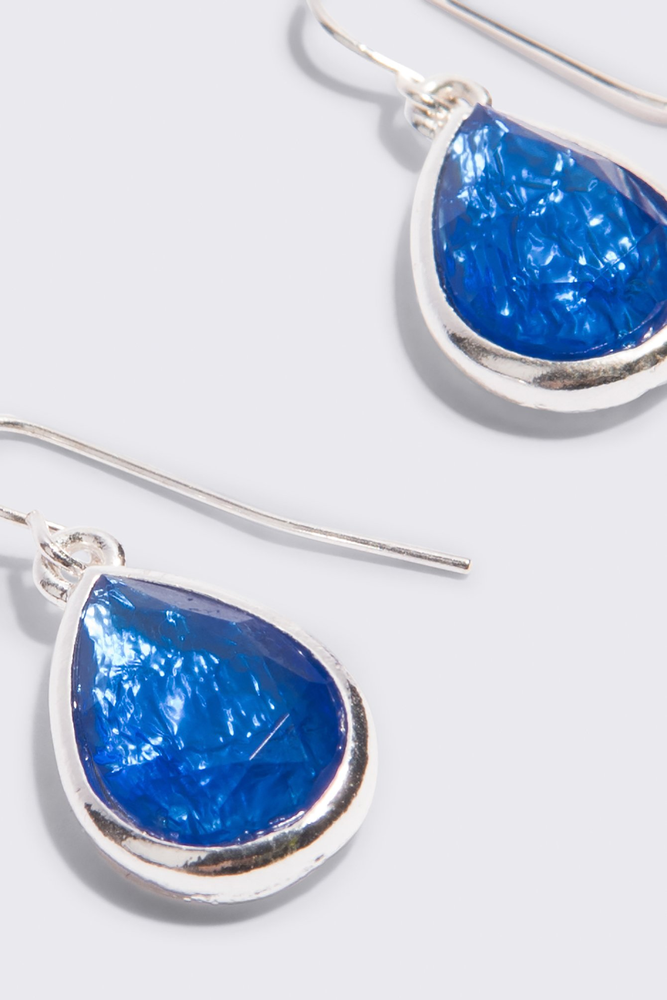 Opal Stone Teardrop Earrings NA-KD.COM