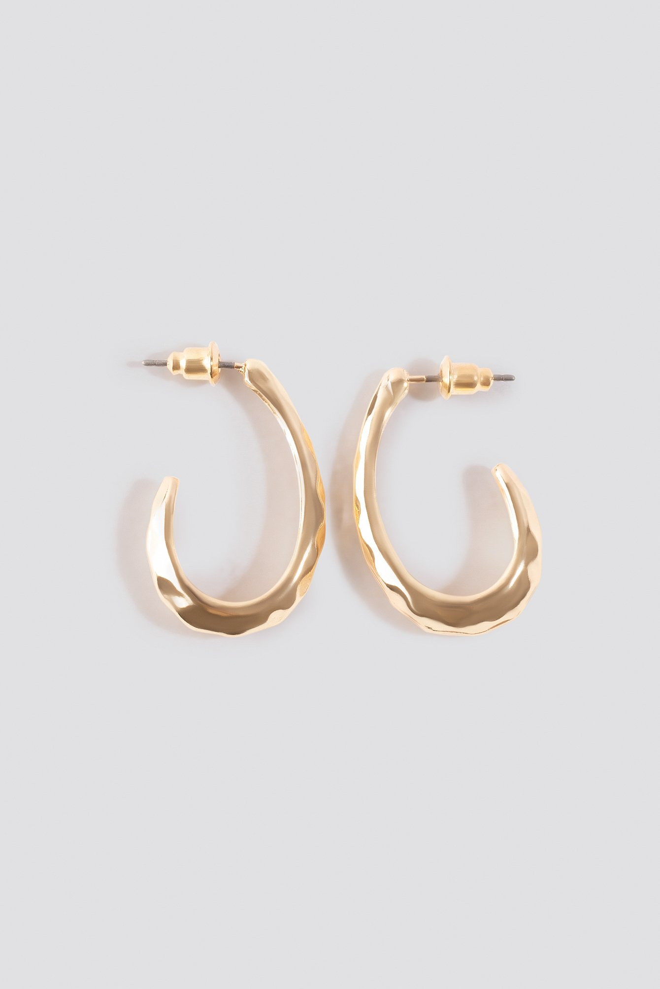 Open Oval Hoop Earrings NA-KD.COM