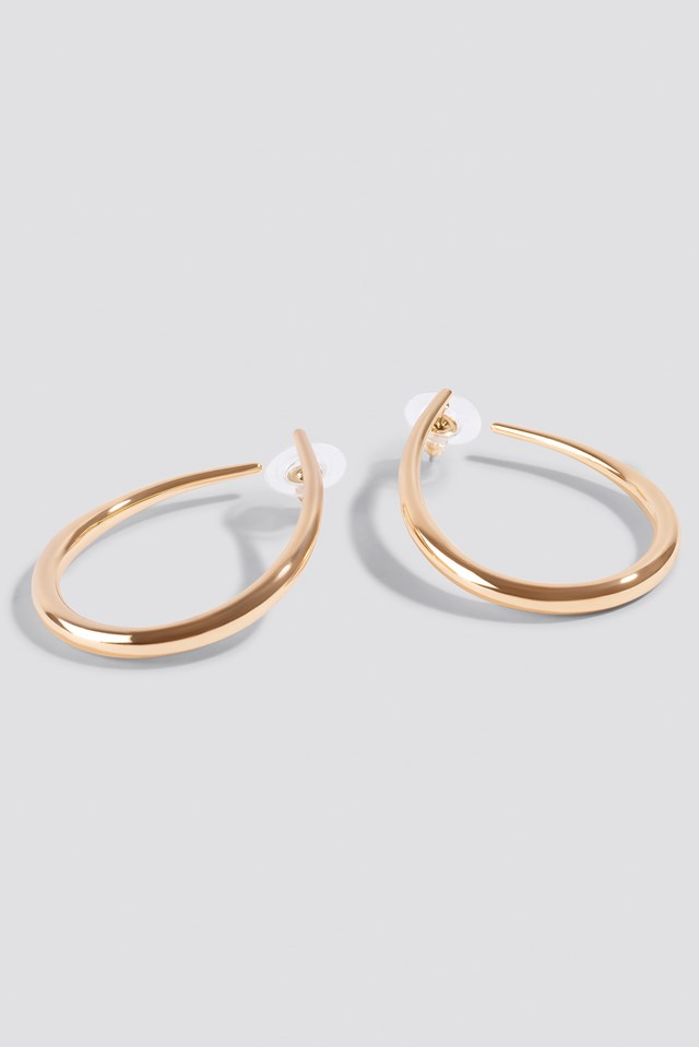 Open Top Hoop Earrings NA-KD.COM