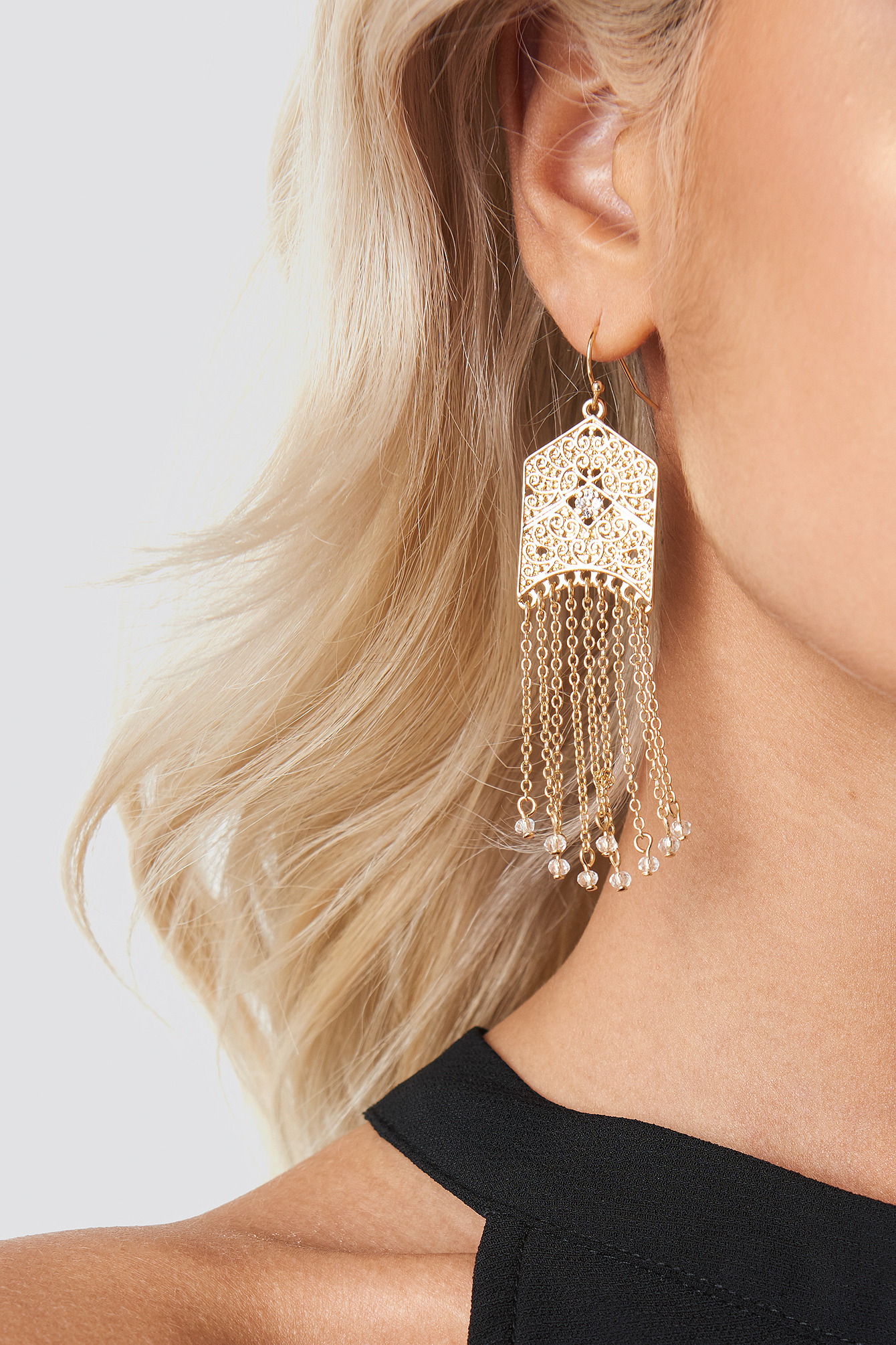 Ornament Drop Earrings NA-KD.COM