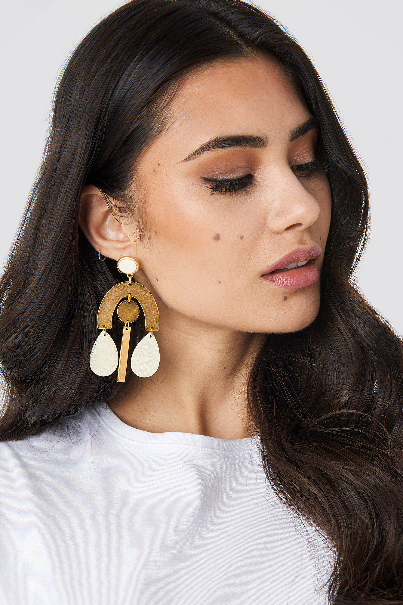 na-kd accessories -  Ornament Earrings - Gold