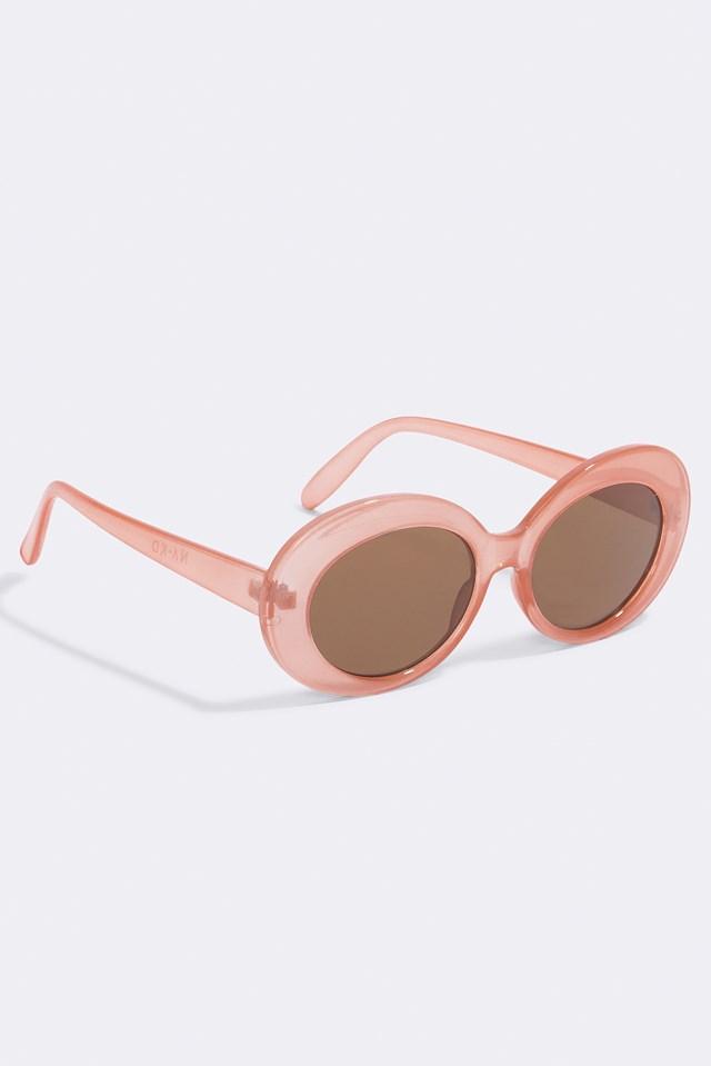 Oval Sunglasses Blush