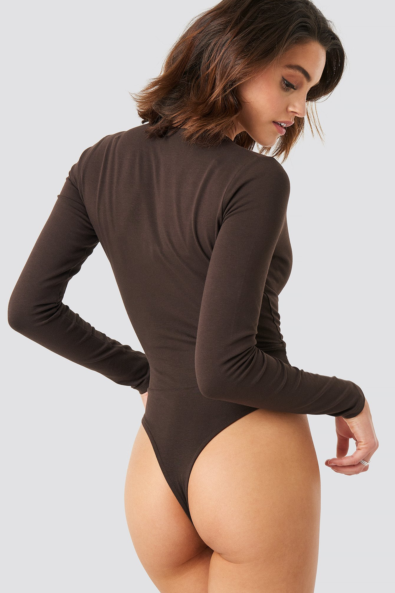 Overlap Long Sleeve Body NA-KD.COM