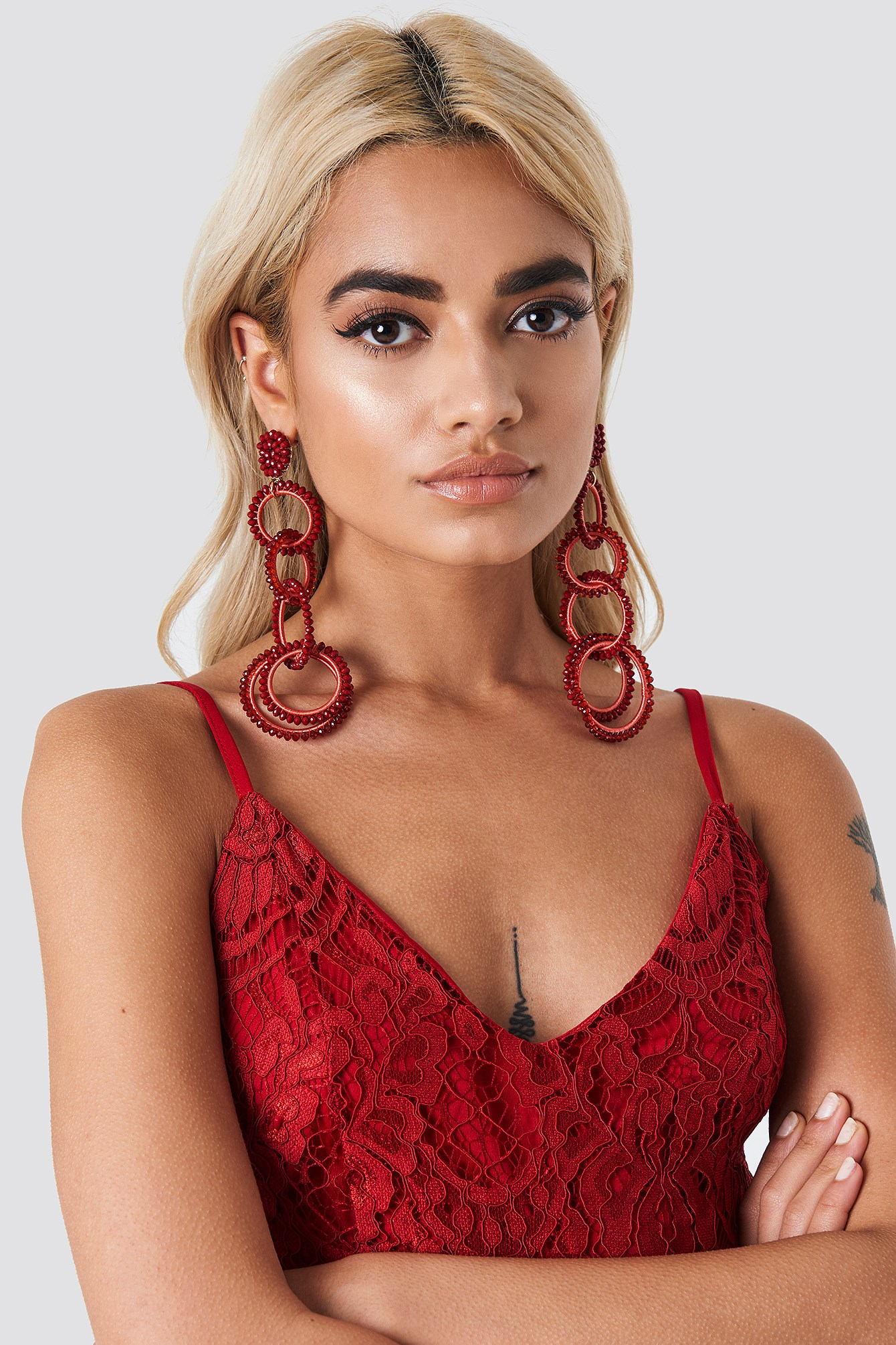 Oversize Multi Hoop Earrings NA-KD.COM