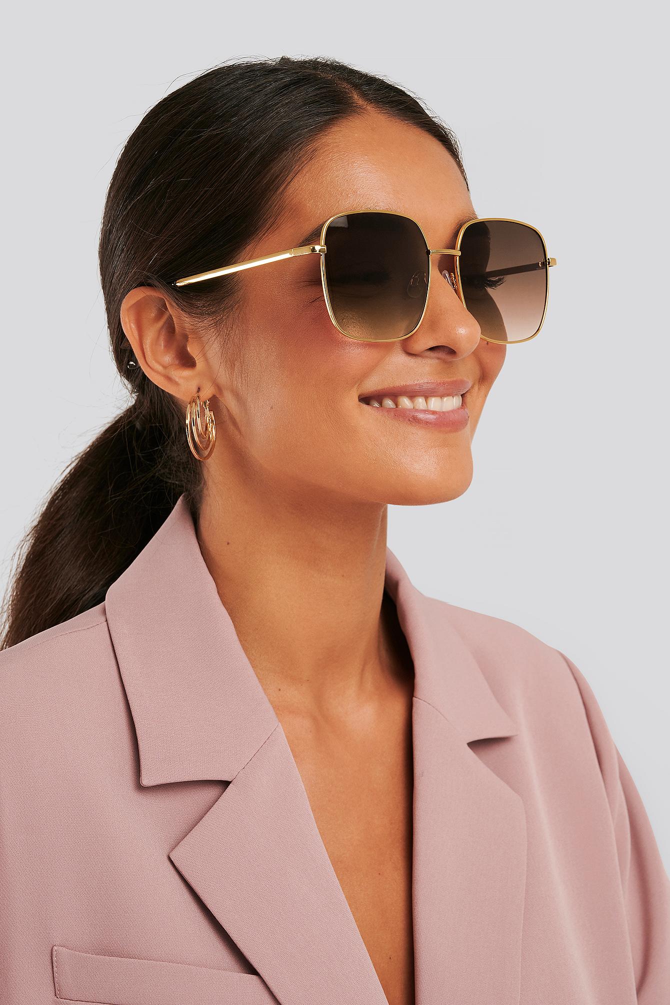 na-kd accessories -  Sonnenbrille - Gold