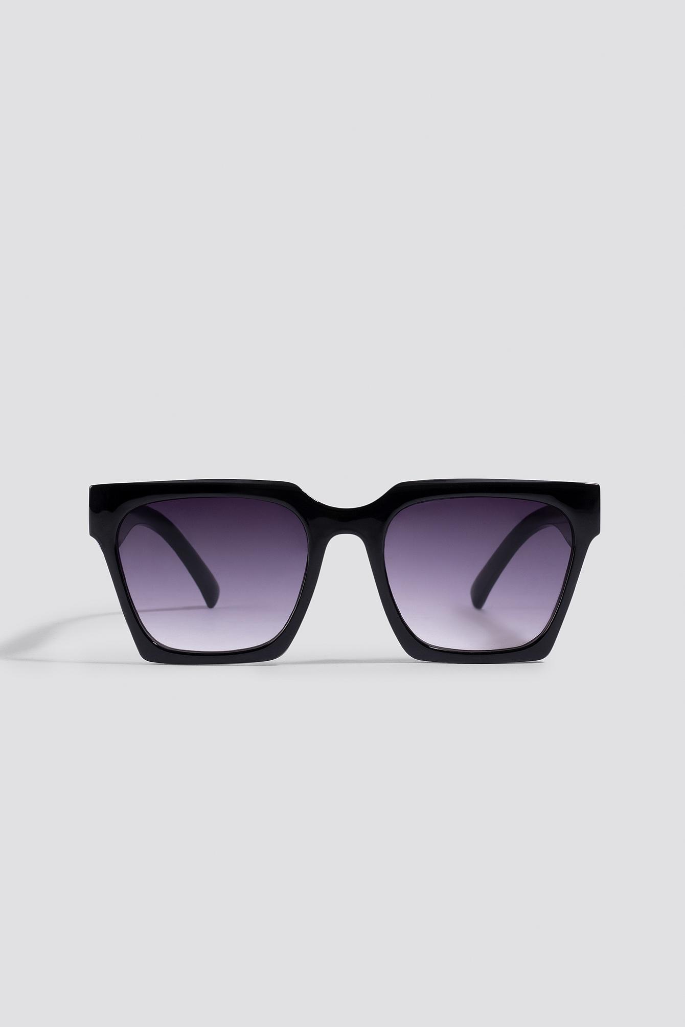Oversize Squared Sunglasses NA-KD.COM