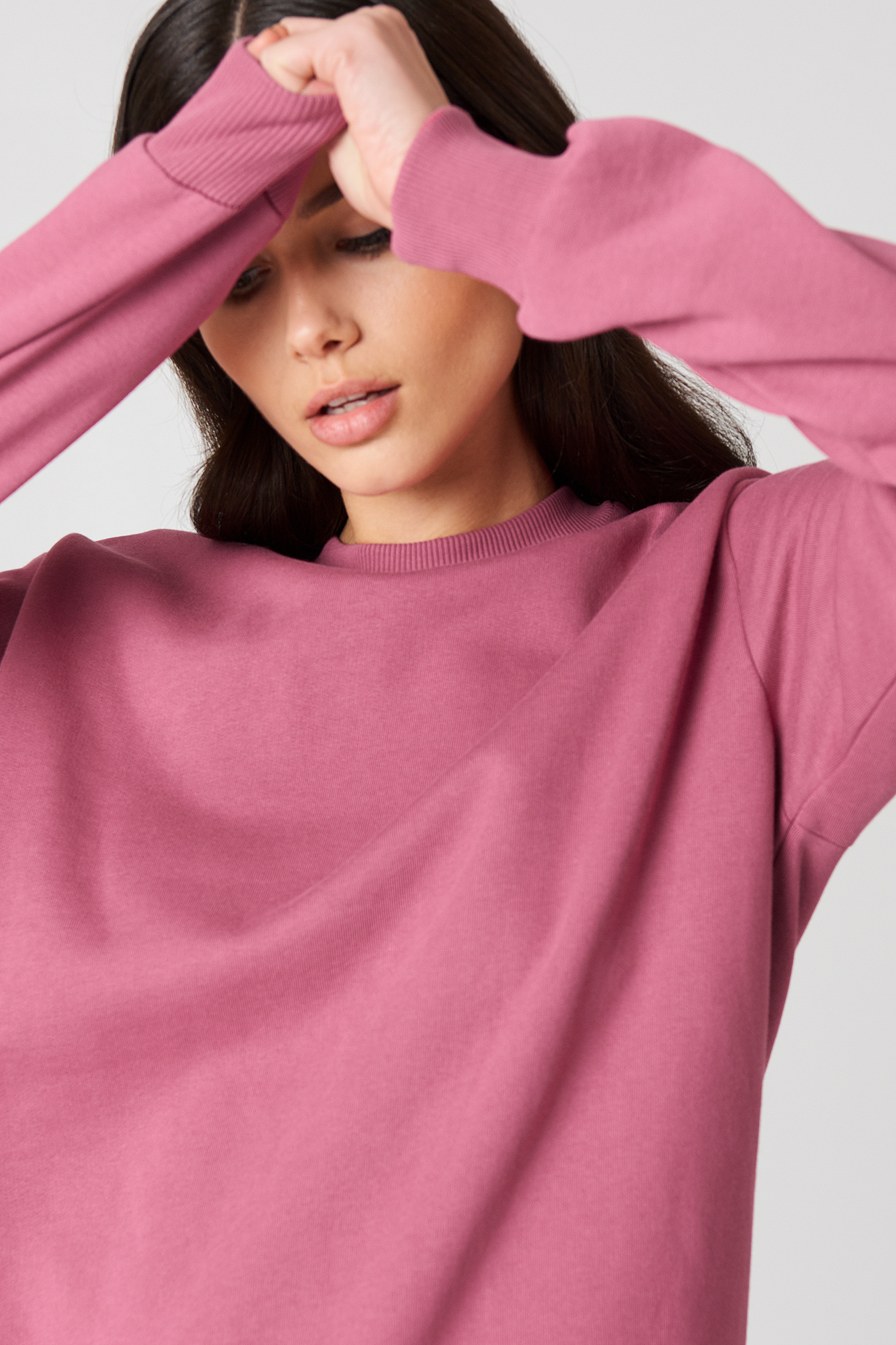 Oversized Basic Sweater NA-KD.COM