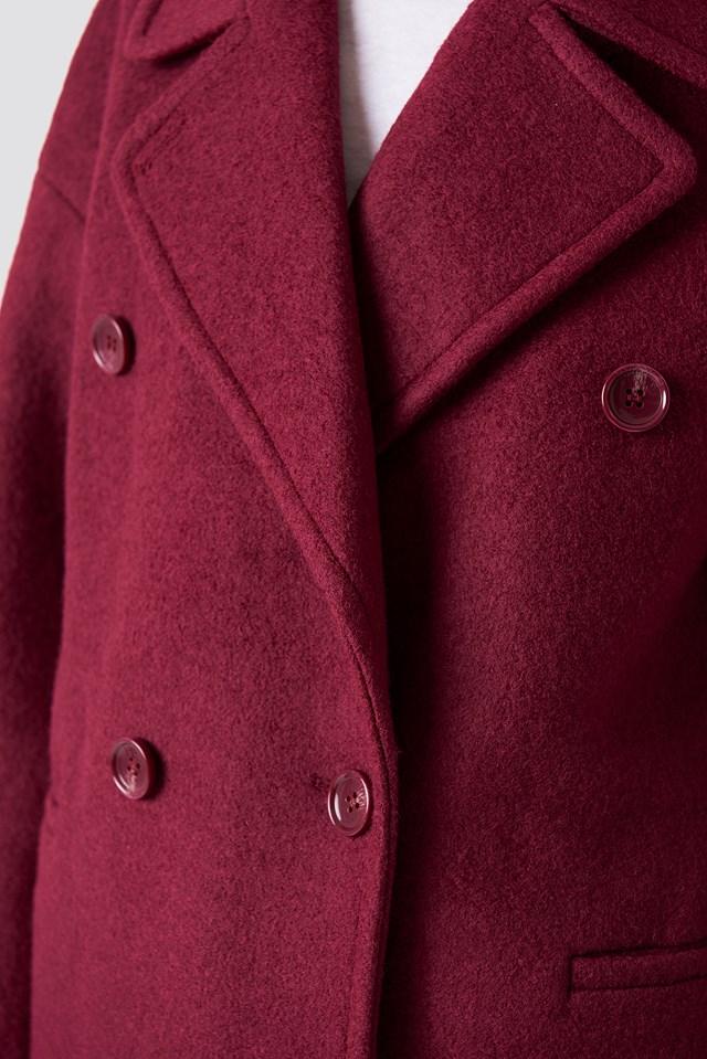 Oversized Double Breasted Coat NA-KD.COM
