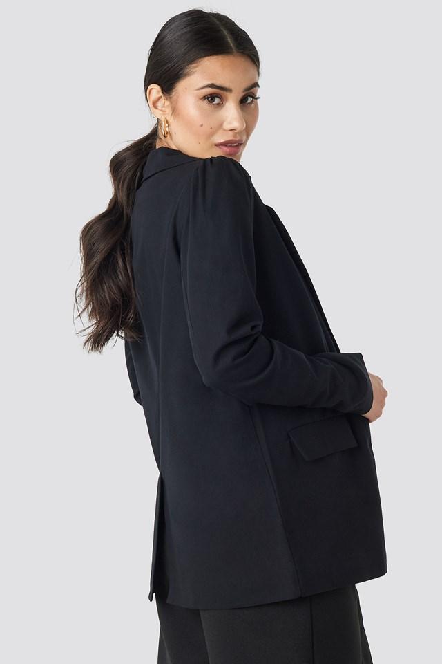 Oversized Puff Shoulder Blazer NA-KD.COM
