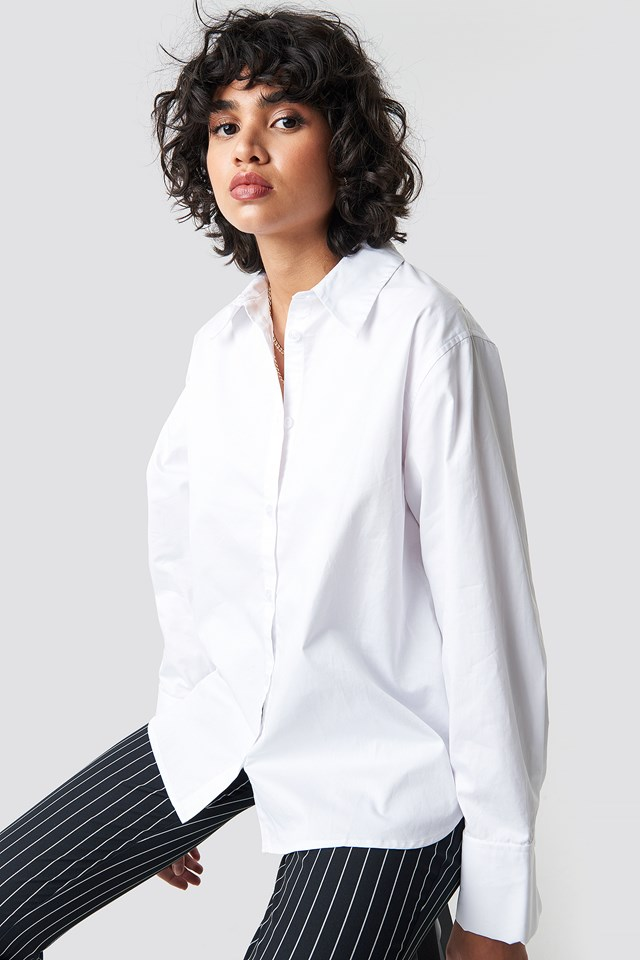 Oversized Shirt White