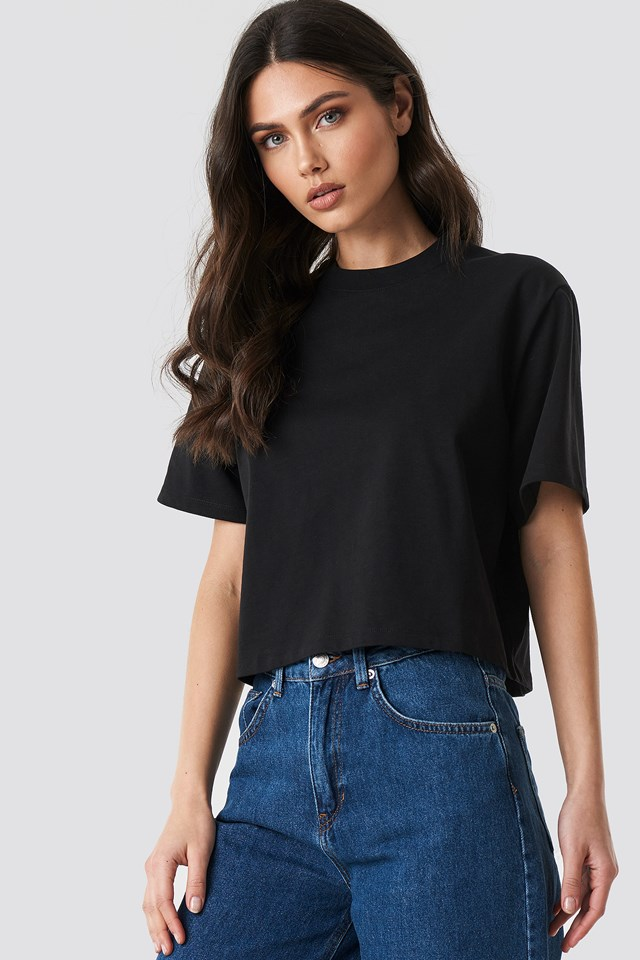 Oversized Short Tee NA-KD Trend