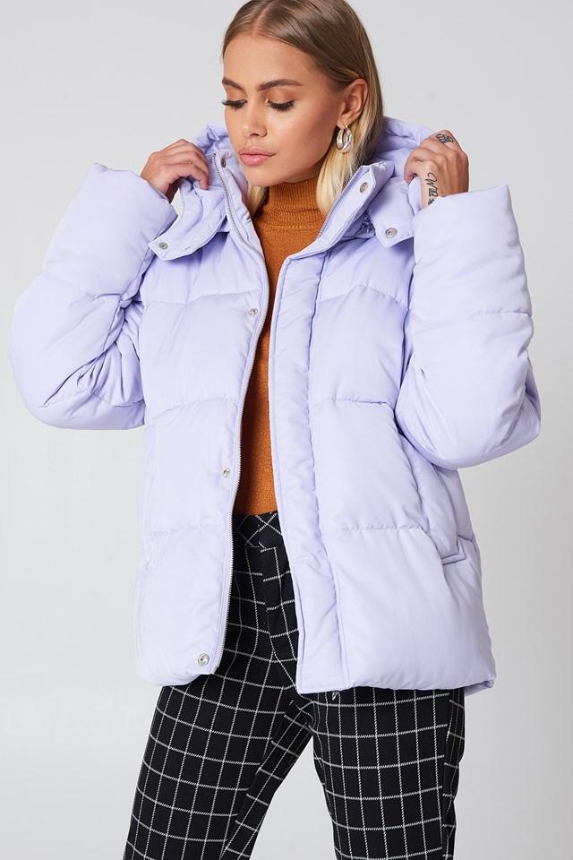 Padded Jacket Lilac