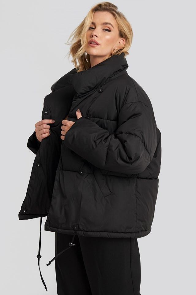 Padded  Oversized Jacket NA-KD Trend