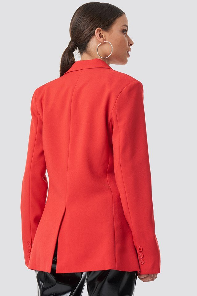 Padded Shoulder Blazer NA-KD.COM