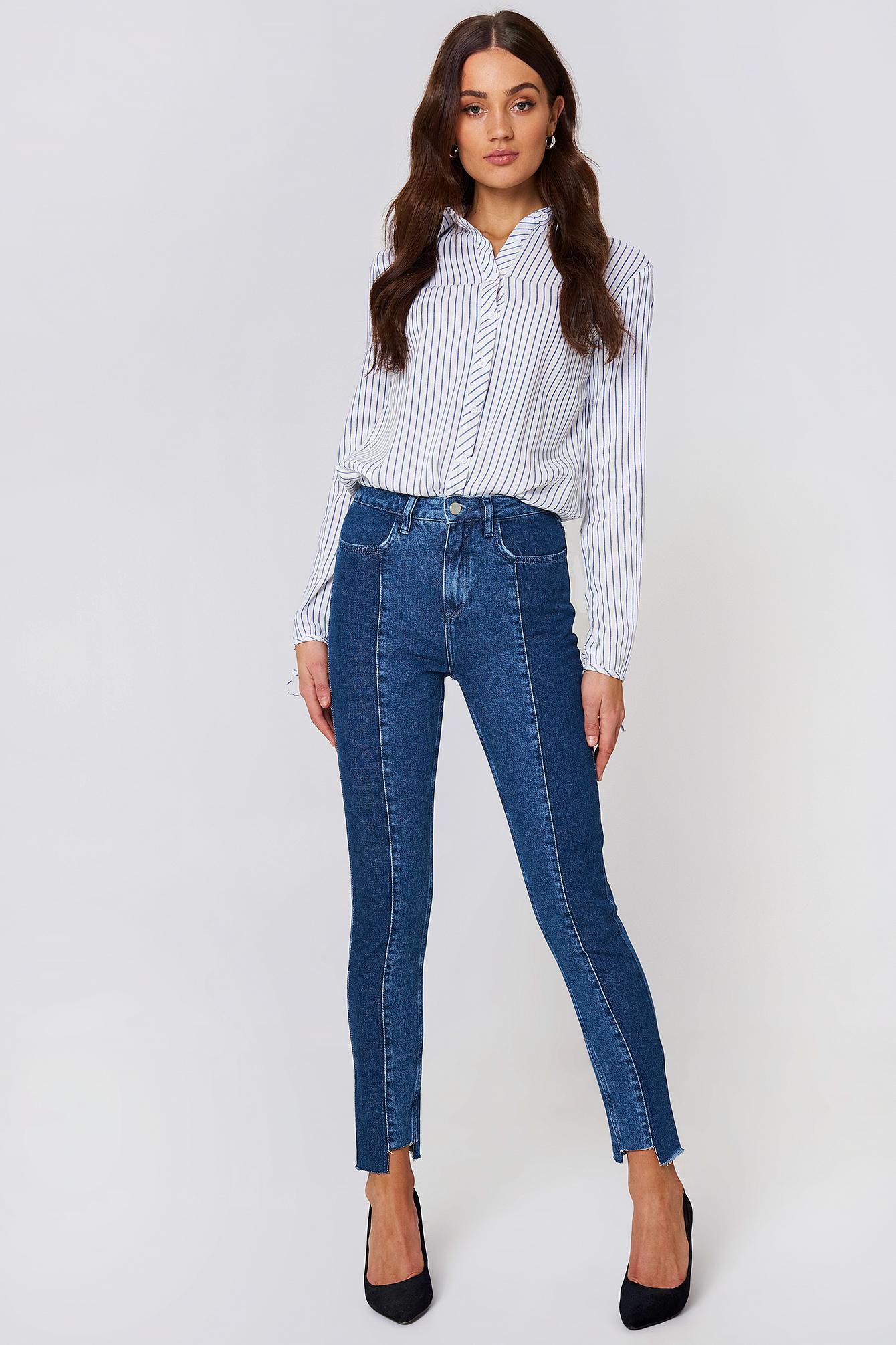 Sale Really Best Prices Online DENIM - Denim trousers NA-KD Many Kinds Of TT93vk5F