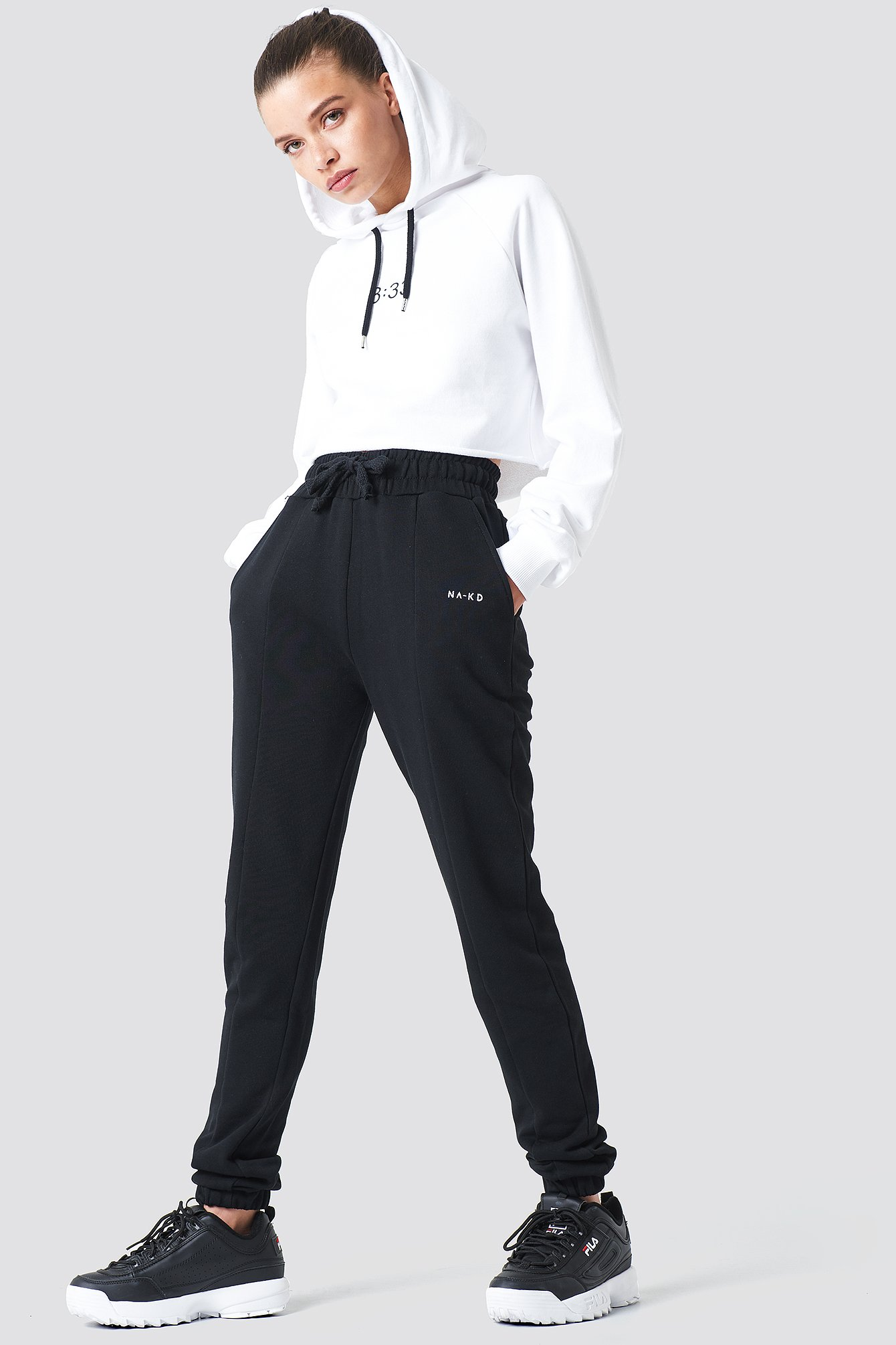 Panel Sweatpants NA-KD.COM