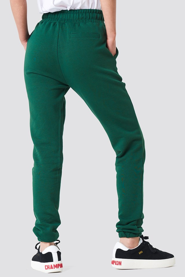 Panel Sweatpants Dark Green