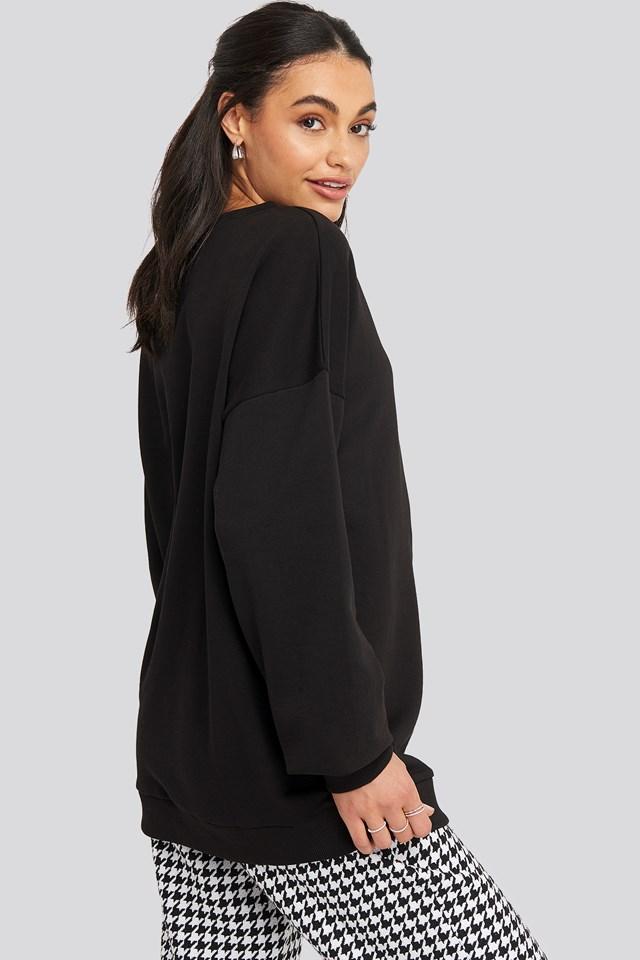 Panther Sweatshirt Black