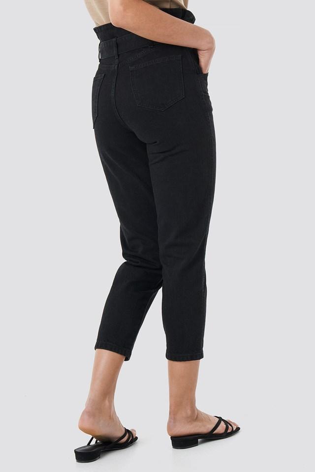 Paperbag Jeans NA-KD.COM