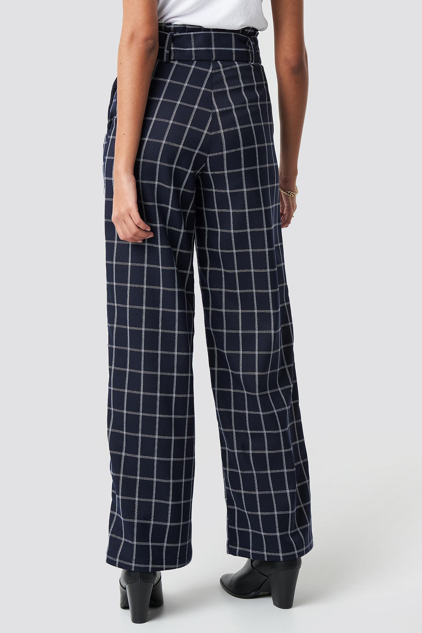 Paperbag Suit Pants NA-KD.COM