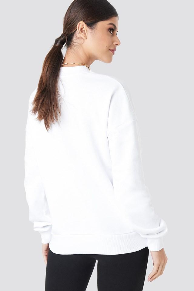 Paris Oversized Sweatshirt White