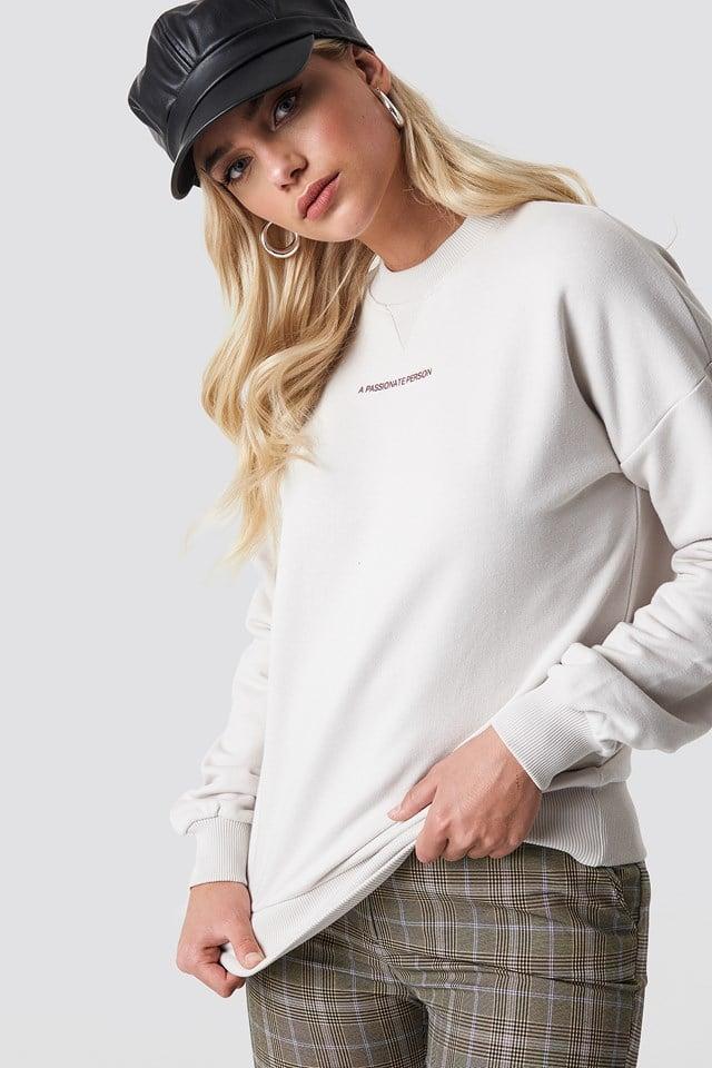 Passionate Sweatshirt NA-KD Trend