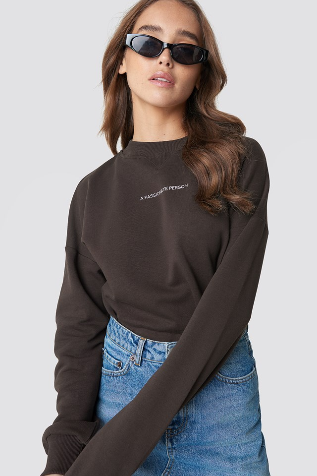 Passionate Sweatshirt Coffee