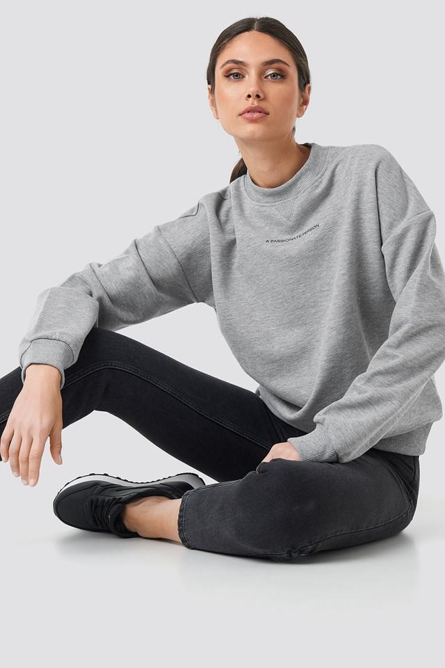 Passionate Sweatshirt Grey Melange