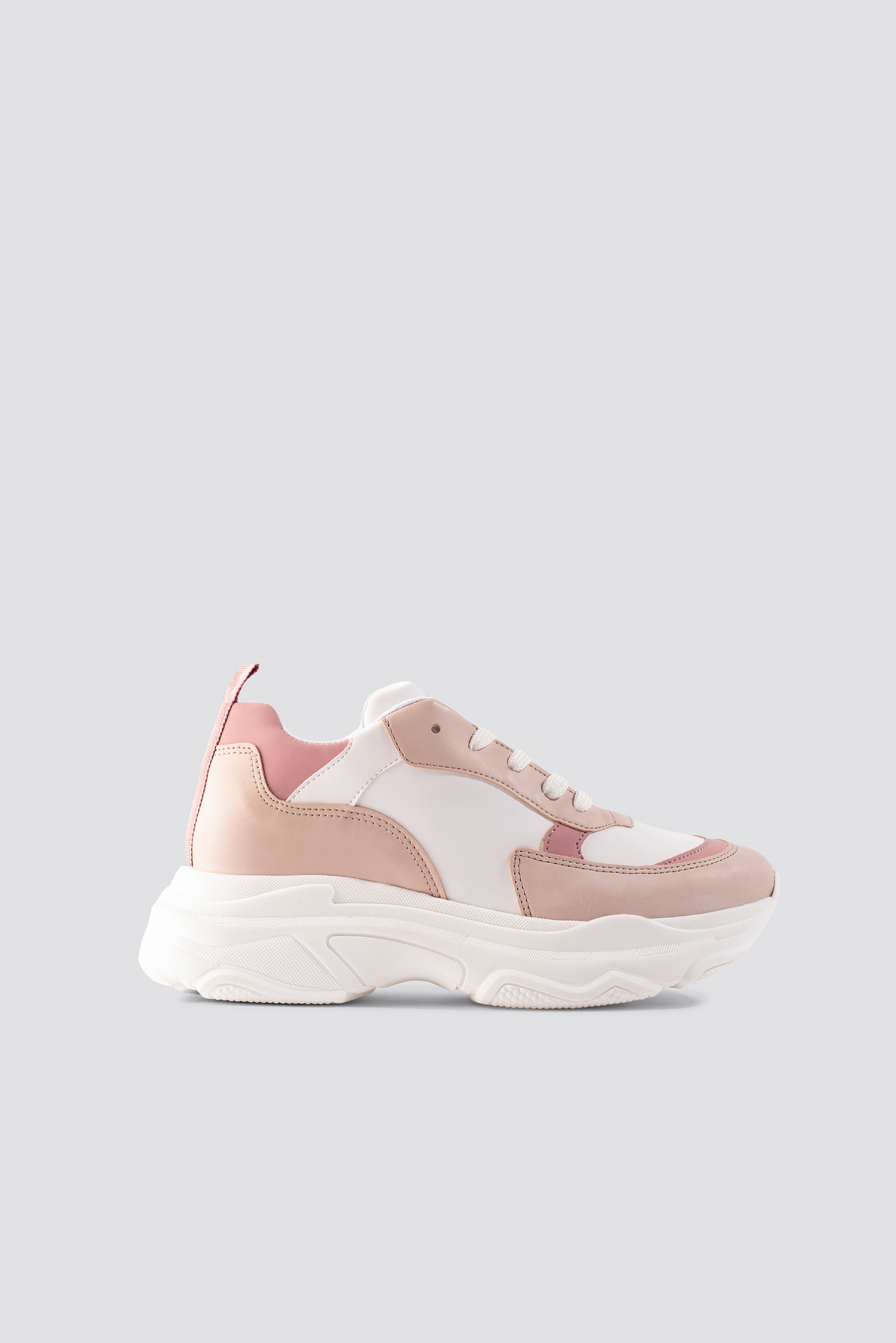 na-kd shoes -  Pastel Chunky Trainers - Multicolor
