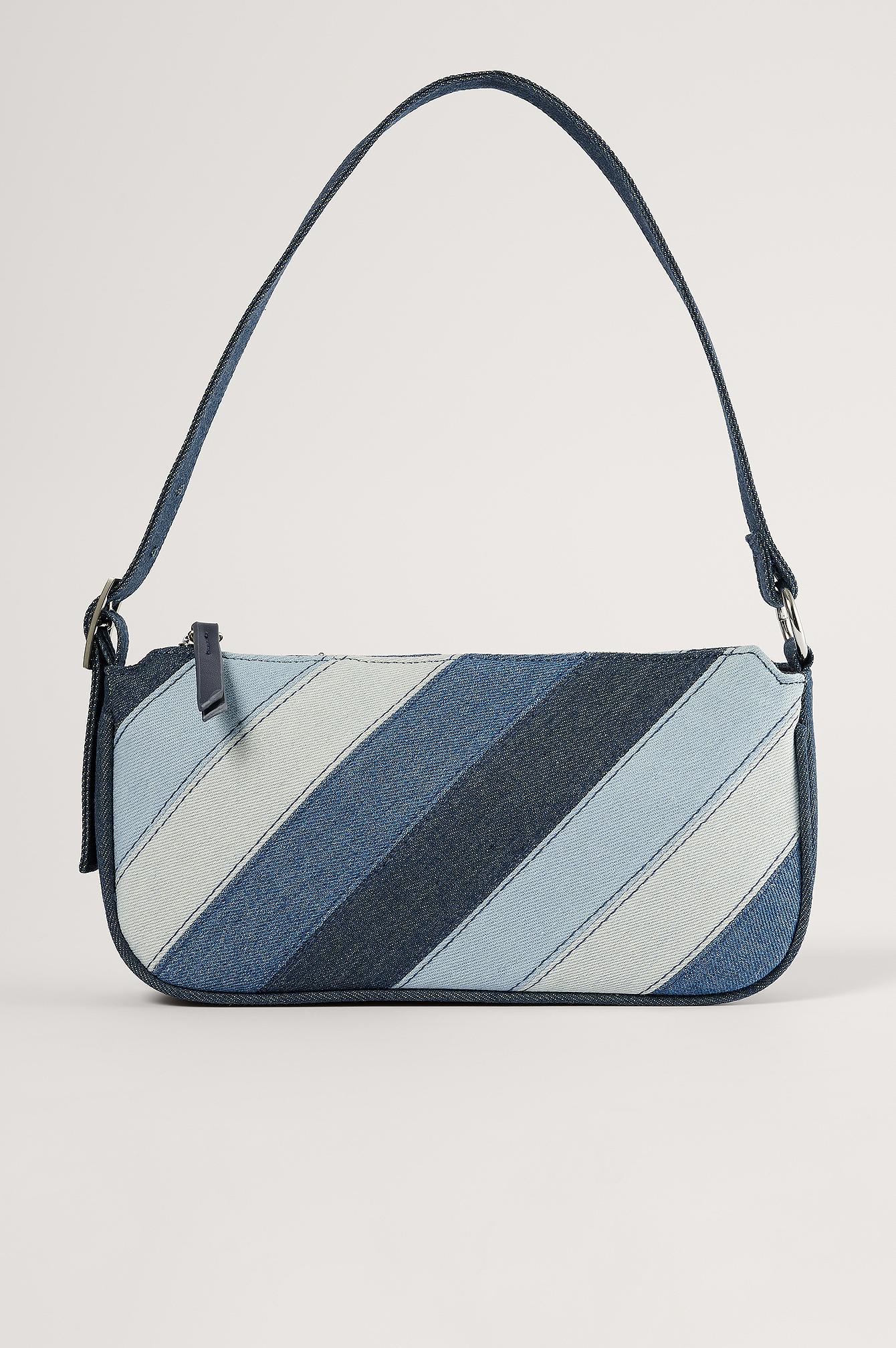 na-kd accessories -  Baguette-Tasche - Blue