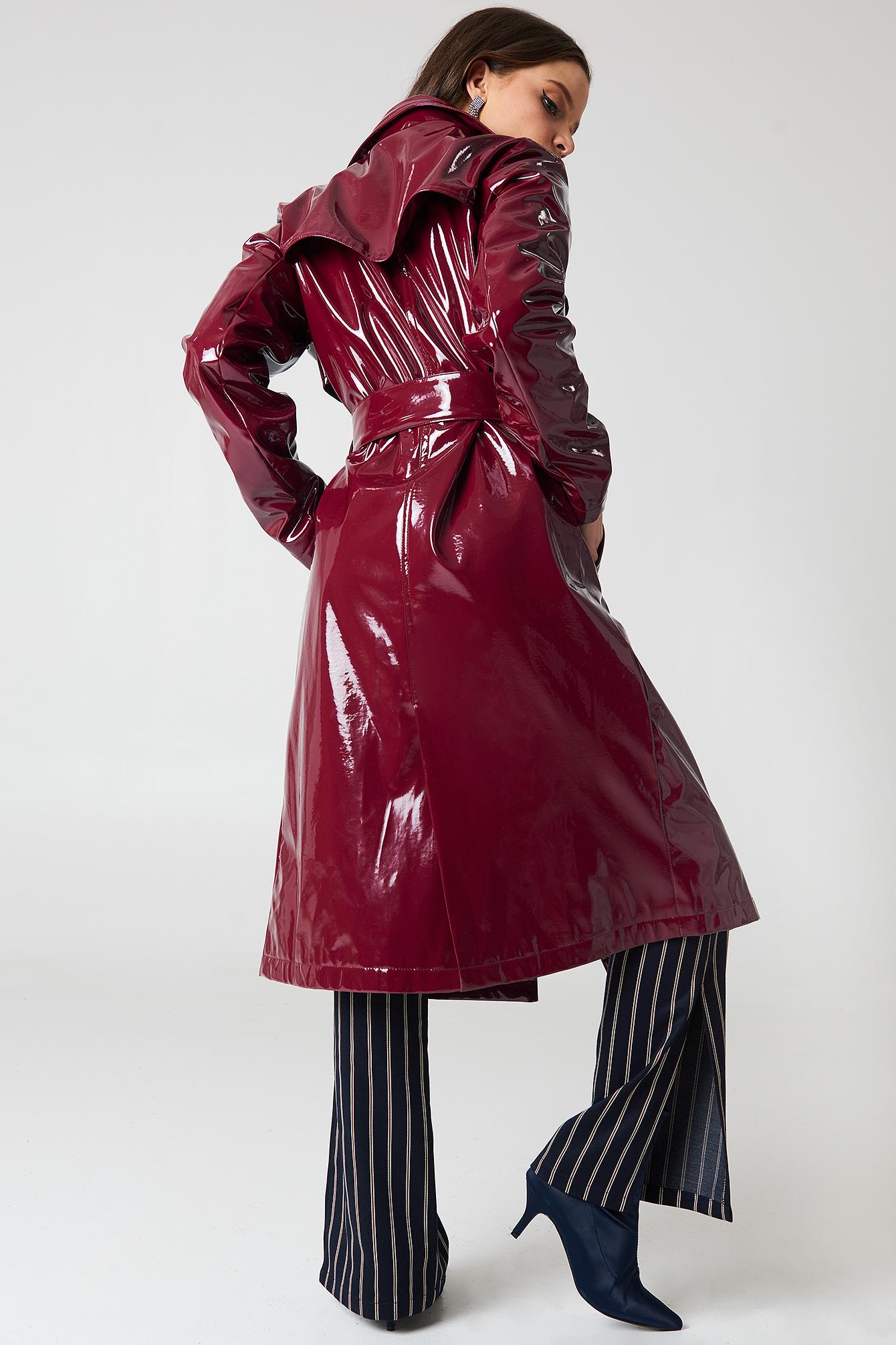 Patent Long Jacket NA-KD.COM