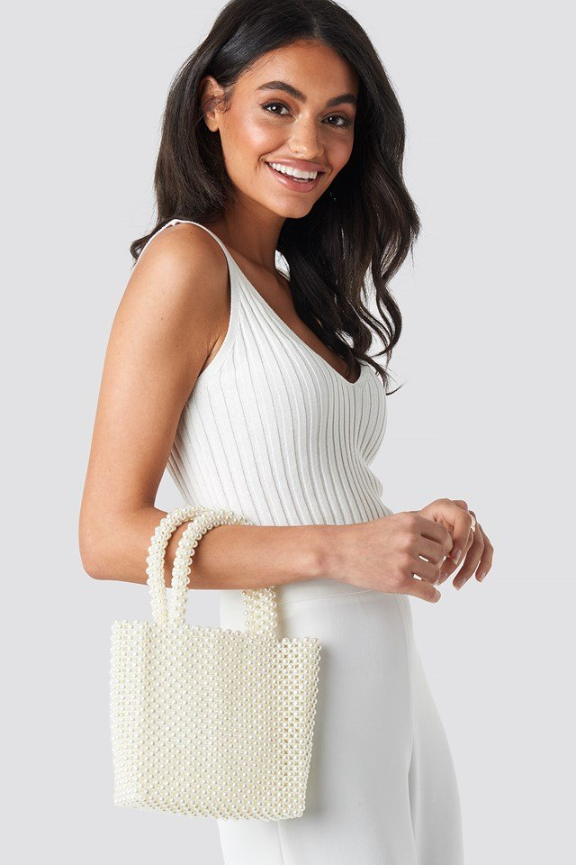 Pearl Bag White