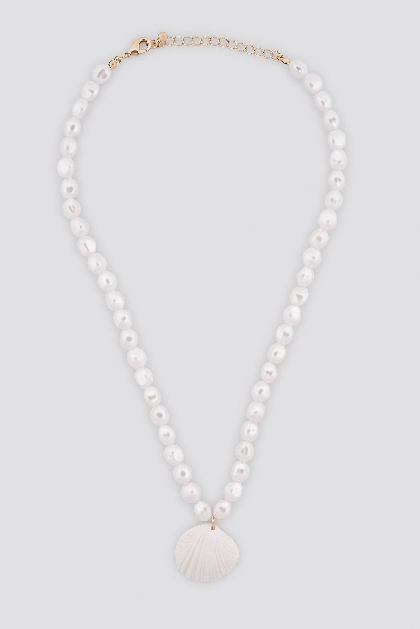 Pearl Shell Pendant Necklace NA-KD.COM