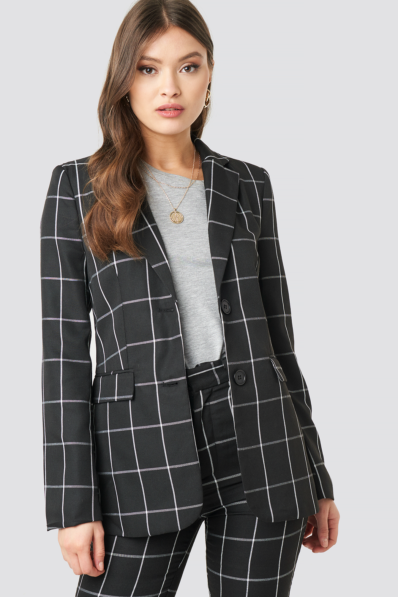 Plaid Blazer NA-KD.COM