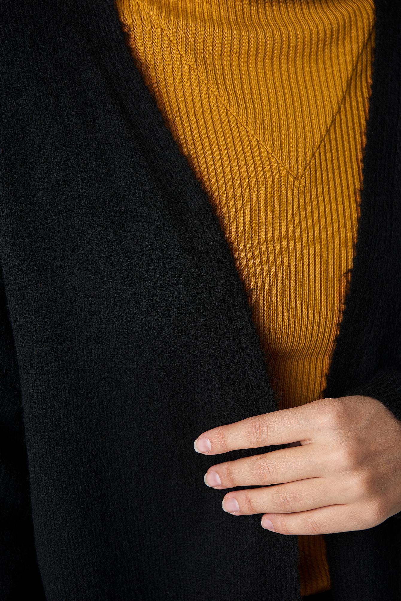 Plain Knitted Midi Cardigan NA-KD.COM