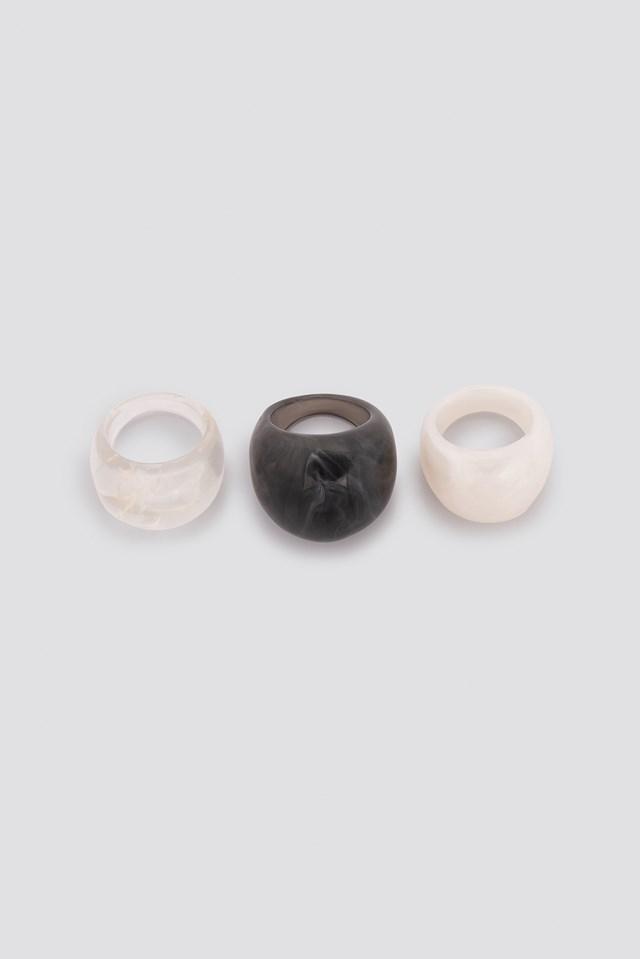 Plastic Rings (3-pack) Multi