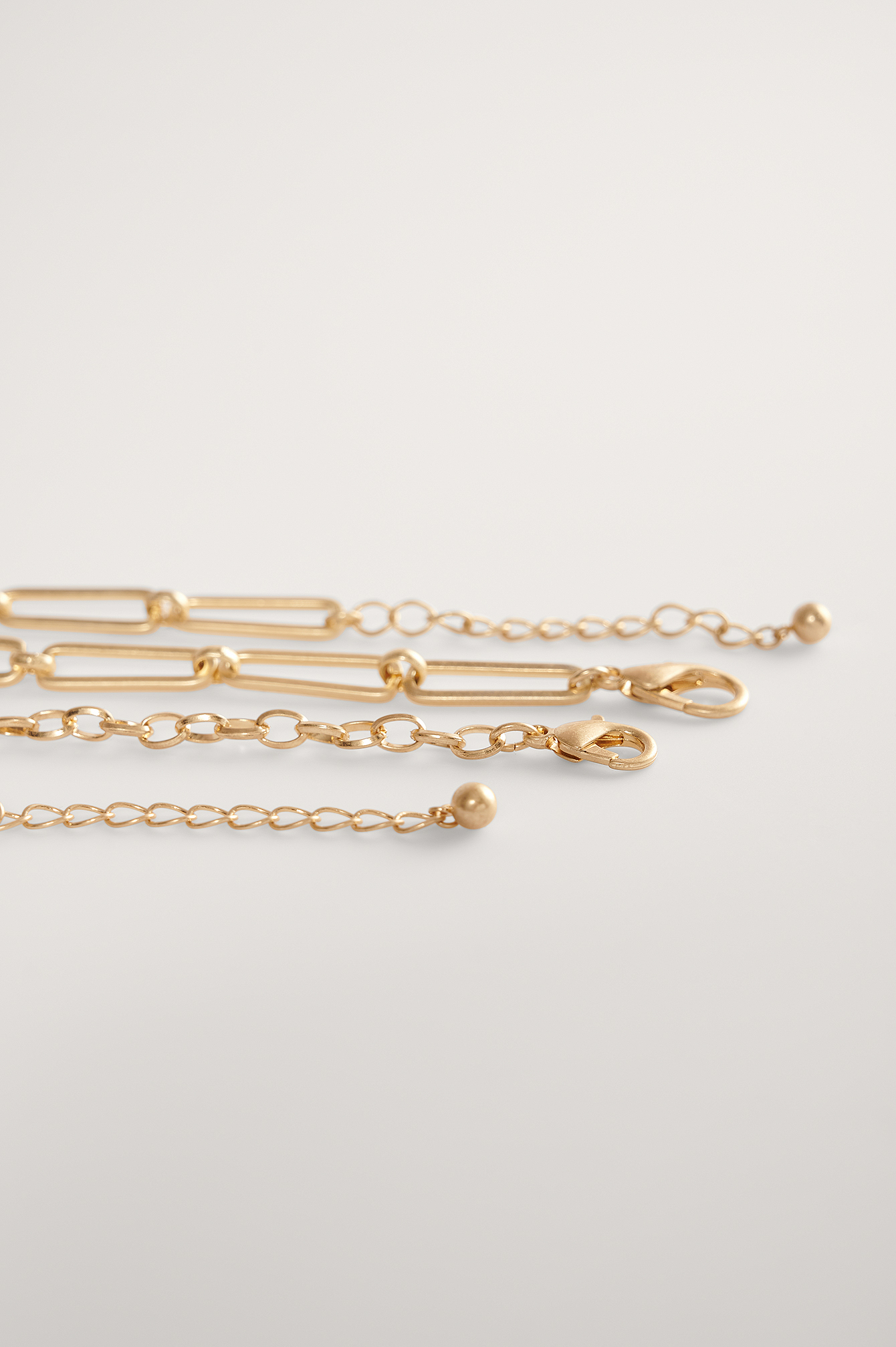 Gold Plate Chain Necklace