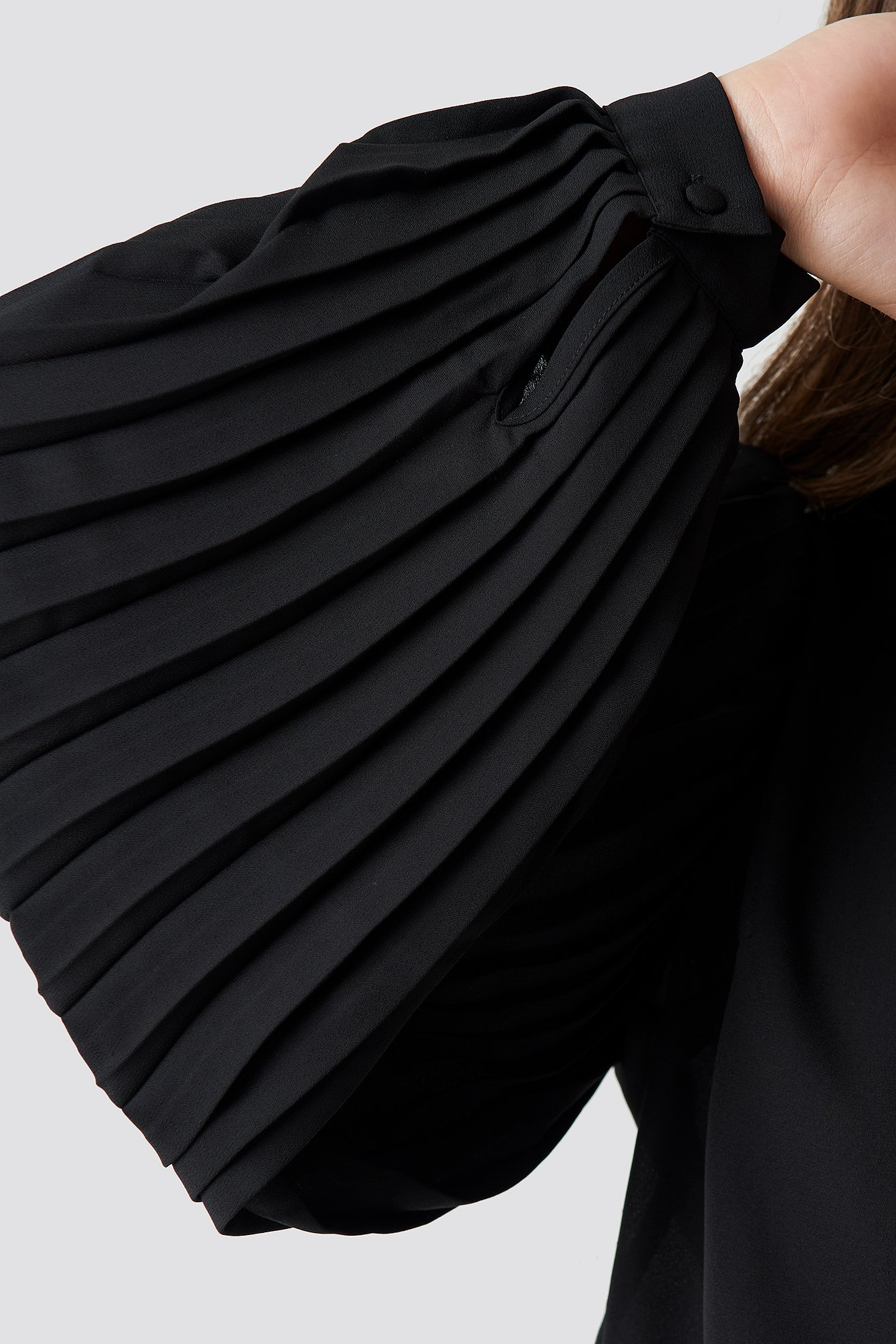 Pleated Detailed Blouse NA-KD.COM