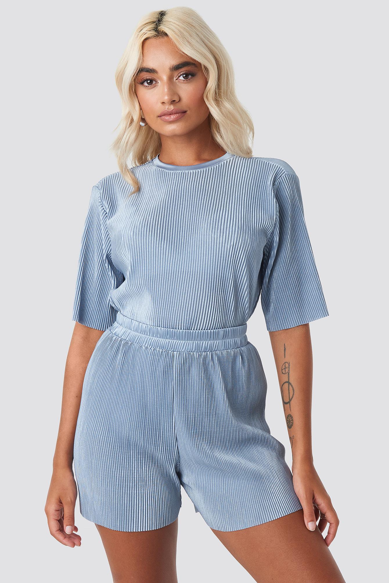 Pleated Shorts NA-KD.COM