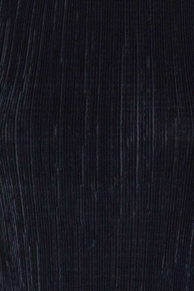 Pleated Singlet Black