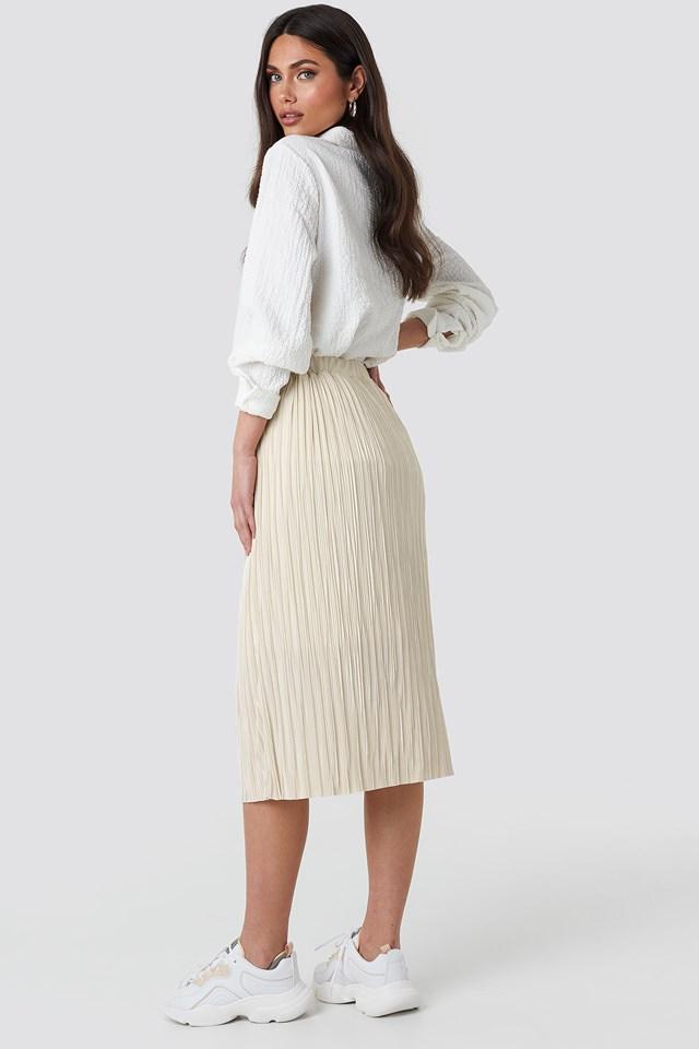 Plisse Skirt NA-KD.COM